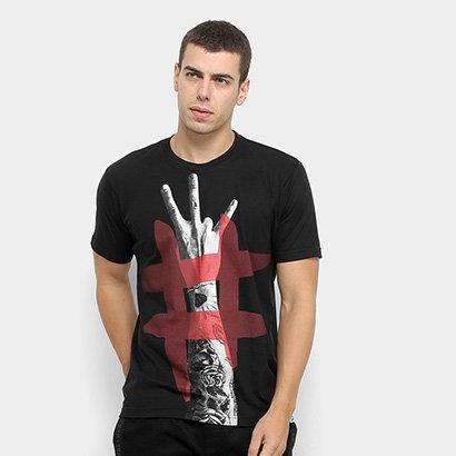 Camiseta Toiss Estampada Masculina