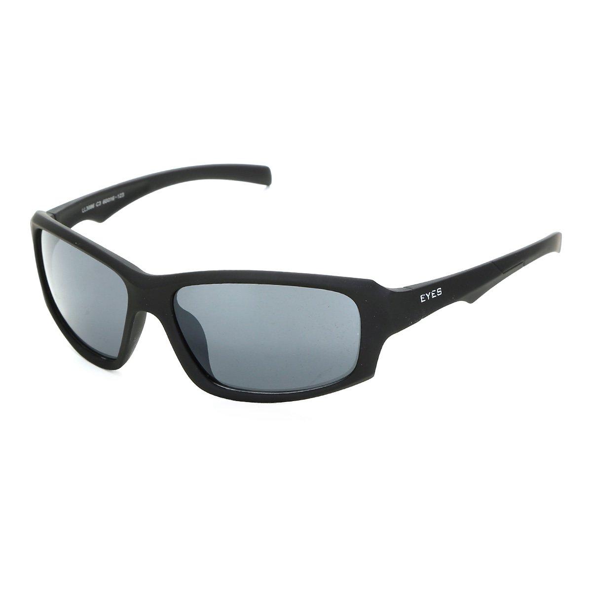 135fc8878 Óculos de Sol Eyes Emborrachado LL3086 Masculino