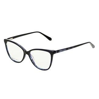 ce77c1c56ba8a Óculos de Sol Marielas Akeni Transparente Feminino