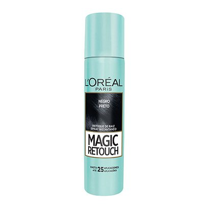 Retoque de Raiz L'Oréal Paris Magic Retouch Spray Instantâneo Preto 75ml