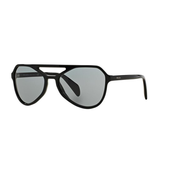 296da014d Óculos de Sol Prada PR 22RS - Preto | Netshoes
