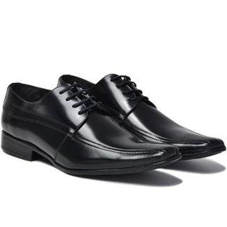 bb13543c5 Sapato Social Lsb Shoes Confort Espumado Masculino