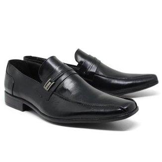 e4cc0c0f9 Sapato Social Lsb Shoes Bico Quadrado Masculino