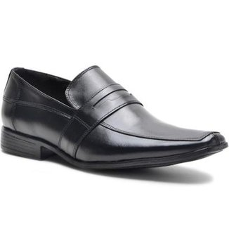 977eb333f6 Sapato Social Lsb Shoes Conforto Espumado Masculino