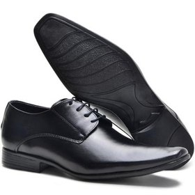 1327fcb396 Sapato Social Masculino Couro de Amarrar Leoppé | Netshoes