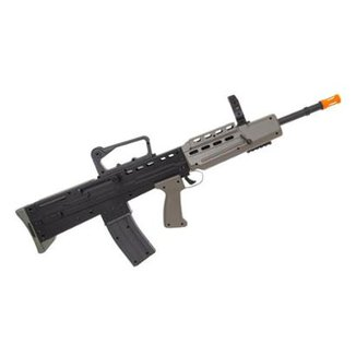 Rifle de Airsoft Spring VG L85A1 Preto 320 fps Vigor