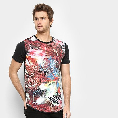 Camiseta Squadrow Long Arara Masculina