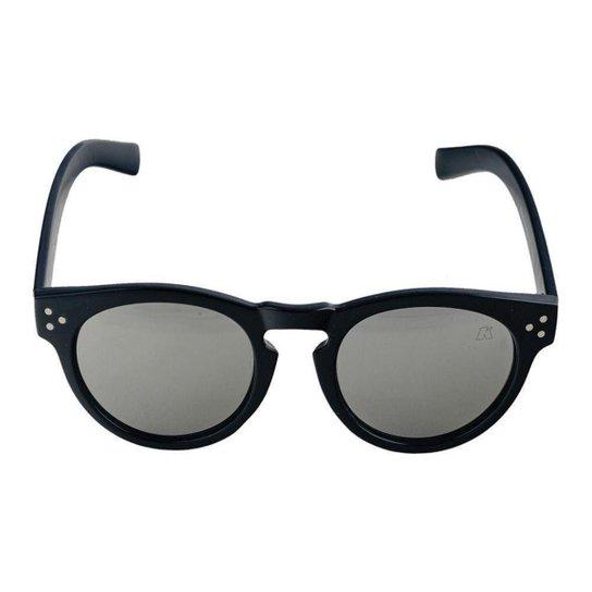 Óculos de Sol Khatto Round Young Feminino - Preto - Compre Agora ... f00efde587