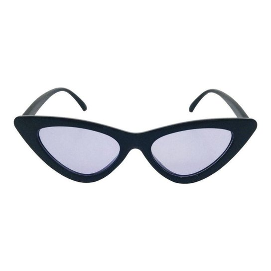 b986c6d749904 Óculos de Sol Khatto Bruninha Vintage Feminino - Preto - Compre ...
