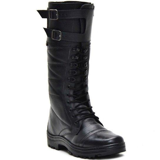 75d77717744 Bota Atron Shoes Militar Cano Alto - Preto - Compre Agora