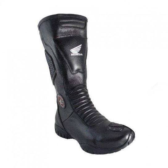 f3ae01065dc Bota Motociclista Atron Shoes Honda - Preto - Compre Agora
