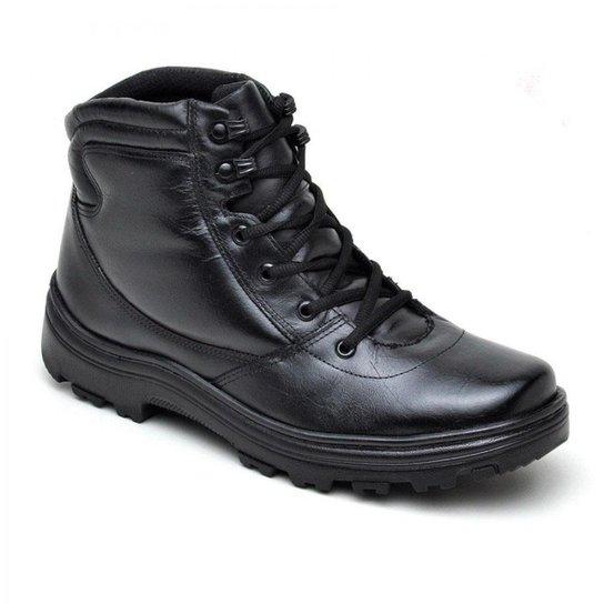 049d612bdee Coturno Militar Em Couro Atron Shoes Masculino - Compre Agora