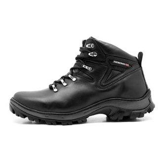 5143dcc6be4 Bota Coturno Adventure Atron Shoes Trilha Masculino