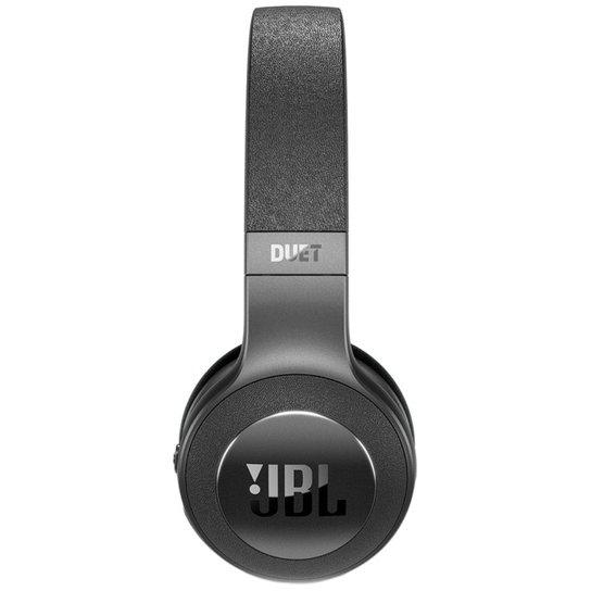 738f992b6fc Fone de Ouvido JBL Duet Bluetooth Wireless On-Ear Headphones - Preto