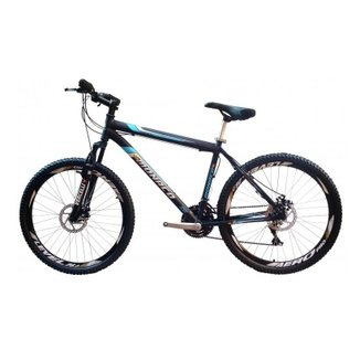 Bicicleta MTB Monaco Pegasus Aro 26 21Vel Freio Disco Câmbios Shimano Rapid  Fire Yamada 9801e183d1e