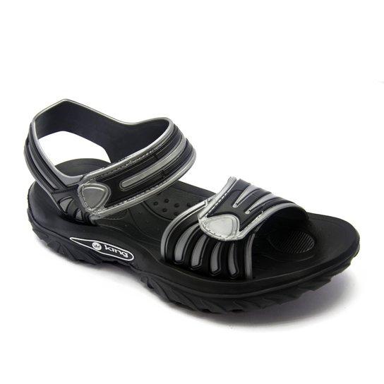 4fdb1bf0d63 1f144186a07fda  Sandália King 709 - Preto - Compre Agora Netshoes  79d6d80627a67c  Sandália Crocs ...