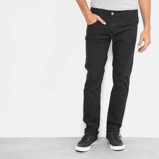 Calça Jeans Slim Preston Masculina - Preto - Compre Agora   Netshoes f58f921645