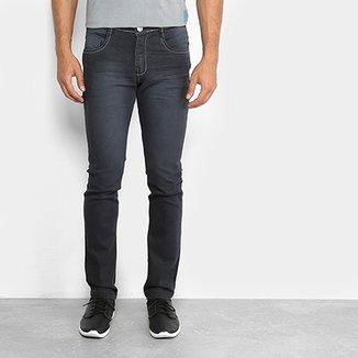 2bb4a6e655b59 Calça Jeans Slim Preston Estonada Masculina