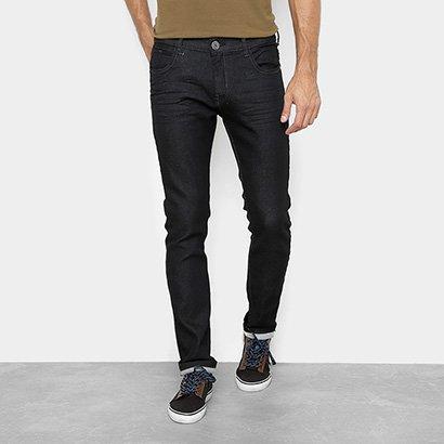 Calça Jeans Preston Confort Jeans Moletinho Masculina