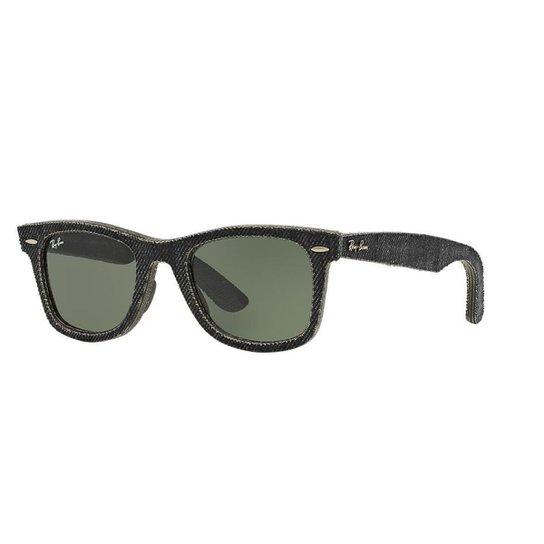 Óculos de Sol Ray-Ban RB2140 Original Wayfarer Denim - Preto ... 0e6699f8bf