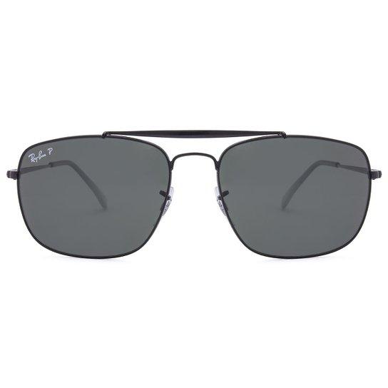 Óculos de Sol Ray-Ban The Colonel RB3560 -001 3F 61 - Preto - Compre ... acfc14c41b