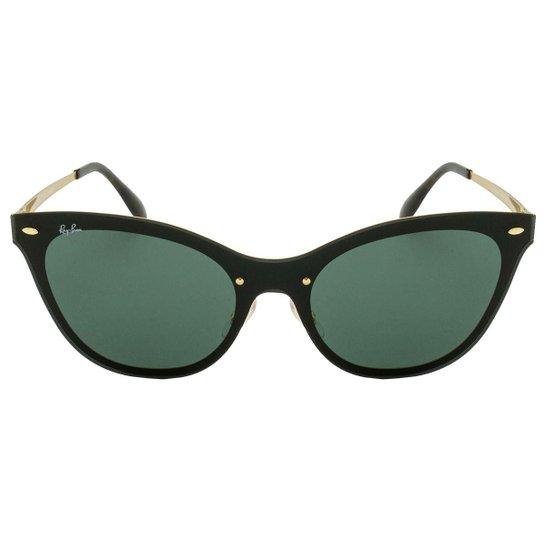 60faf9a1b8afb Óculos de Sol Ray-Ban Blaze Cat Eye RB3580N 043 71 43 - Compre Agora ...