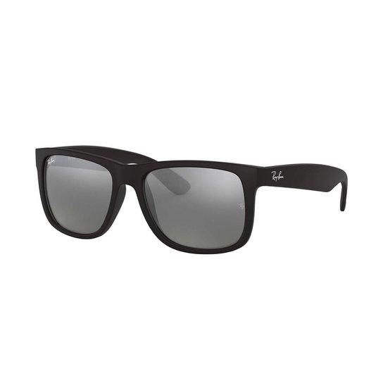 6014bbf09ccd1 Óculos de Sol Ray-Ban Justin - Preto - Compre Agora