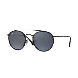 e9beaef63134c Óculos de Sol Ray-Ban Round Rb3647N Masculino