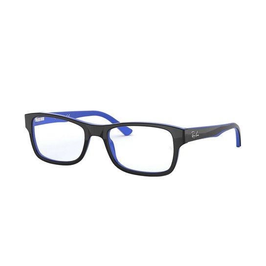 Óculos de Grau Ray-Ban RB5268 Masculino - Preto - Compre Agora ... 9f82a17ee7