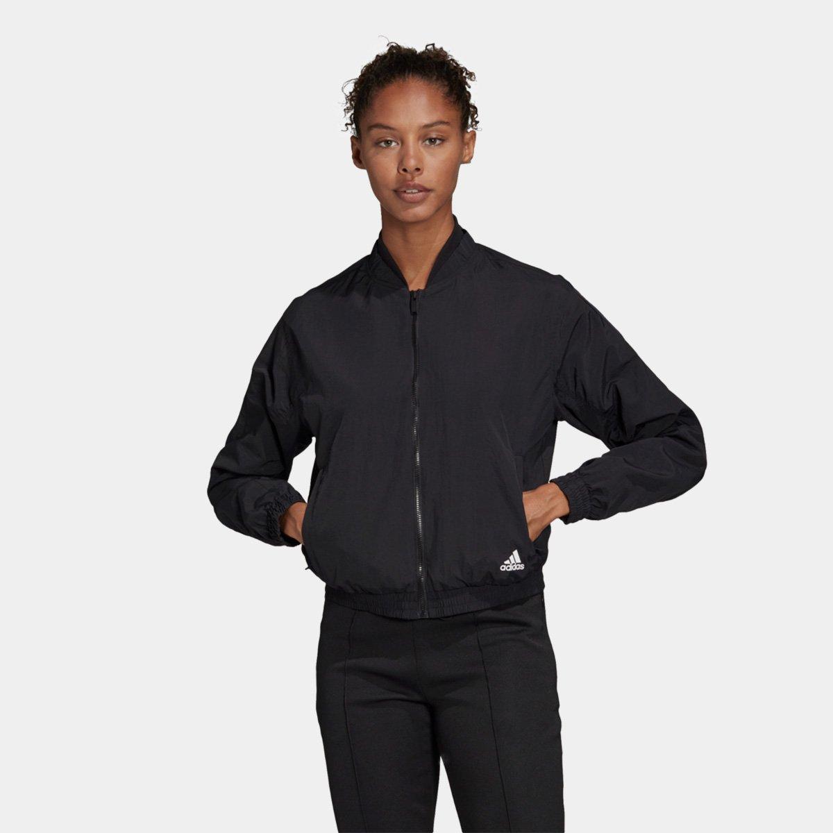 Jaqueta Bomber Adidas Woven Feminina