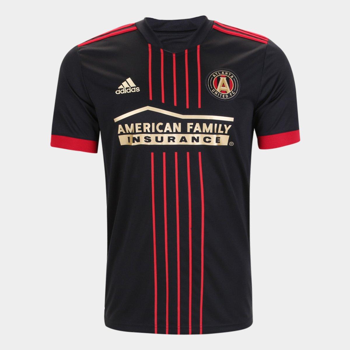Camisa Atlanta United Home 21/22 s/n° Torcedor Adidas Masculina