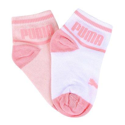 Meia Infantil Puma Sapatilha Kit Com 2 pares Baby