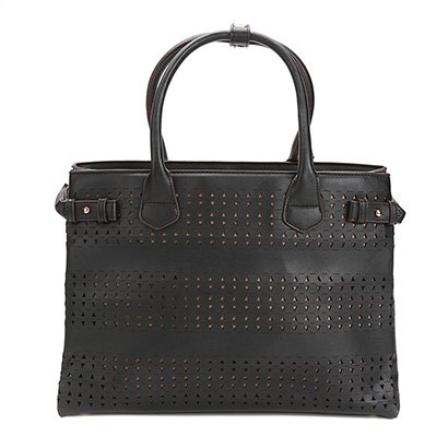 Bolsa Shoestock Shopper Lasercut Feminina