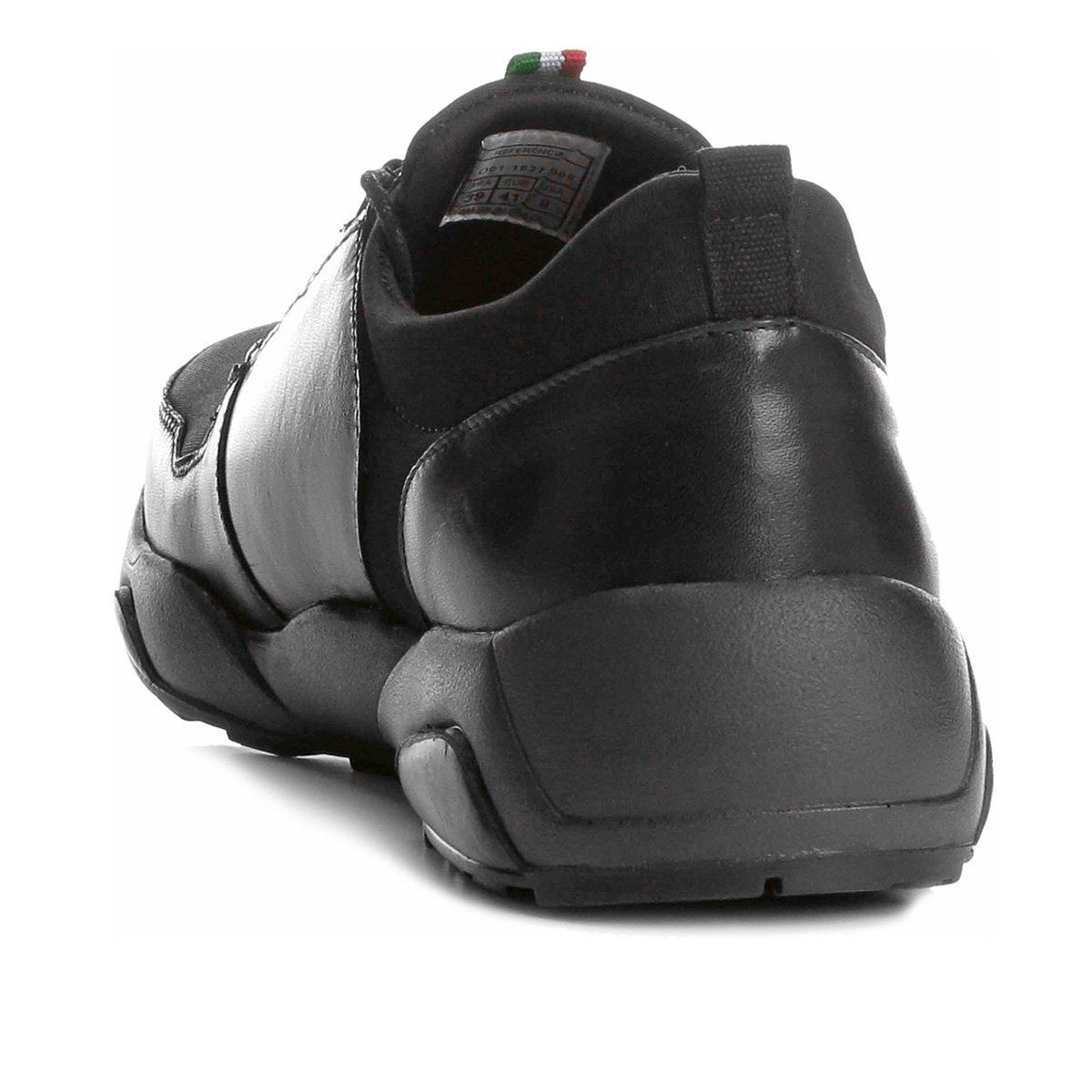 4b8662a9eb Tênis Couro Shoestock Jogging Neoprene Masculino - Shopping TudoAzul