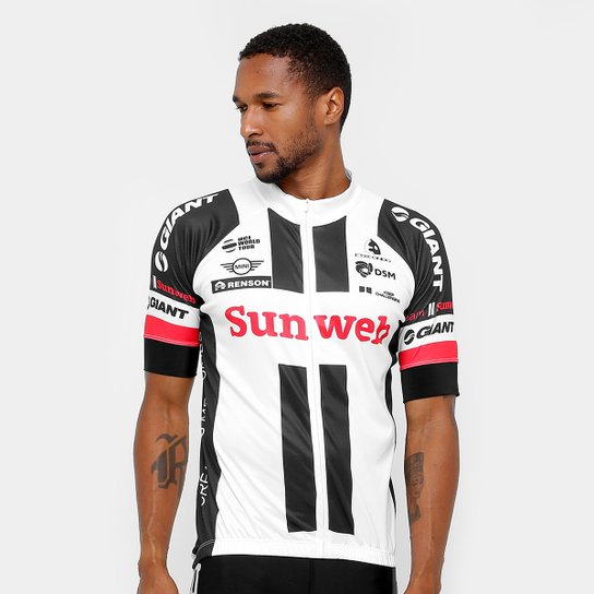 Camiseta Refactor World Tour Giant Masculina - Branco e Preto ... a7b7ce128ad55