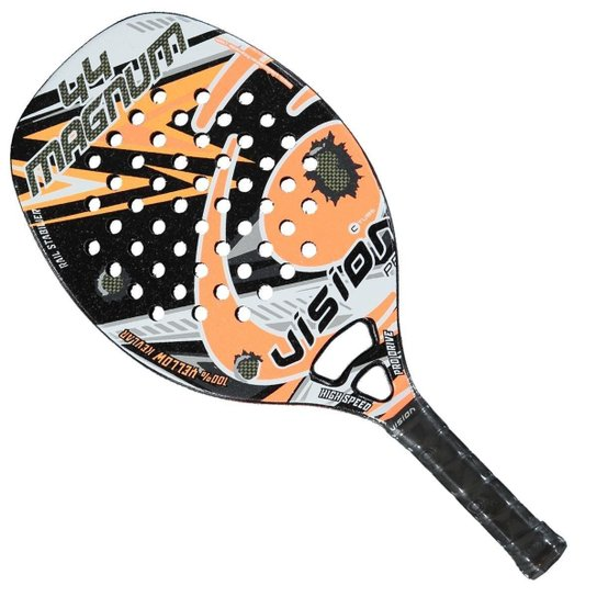 1b93ce109 Raquete de Beach Tennis Vision Big Magnum 50 cm 2018 - Laranja e ...