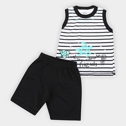 Conjunto Infantil Rovitex Fundo do Mar
