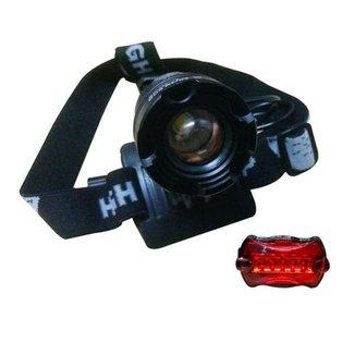 000e44e882ea7 Lanterna de Cabeça e Farol para Bike B-MAX SWAT B-MAX809 com Foco