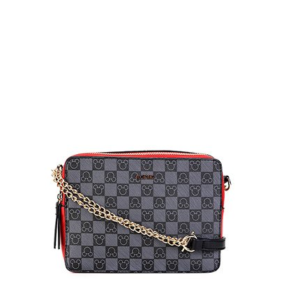 35735e3f4 Bolsa Gash Mini Bag Alça Corrente Estampa Mickey Feminina