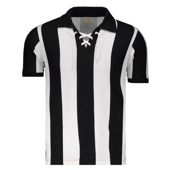 Camisa Botafogo Retrô 1910 Masculina - Preto - Compre Agora  47da002450199