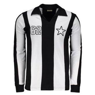 Camisa Botafogo Retrô 1962 Manga Longa Masculina 7ca8e2087cd55