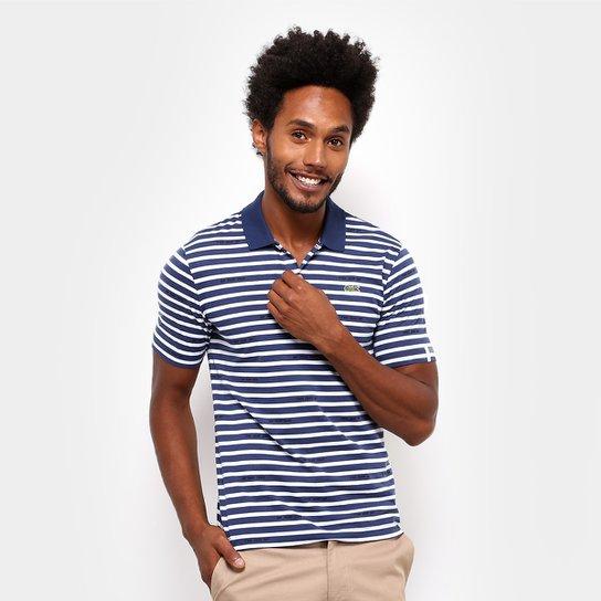 207e1cc98b2 Camisa Polo Lacoste Live Jersey Listras Masculina - Compre Agora ...