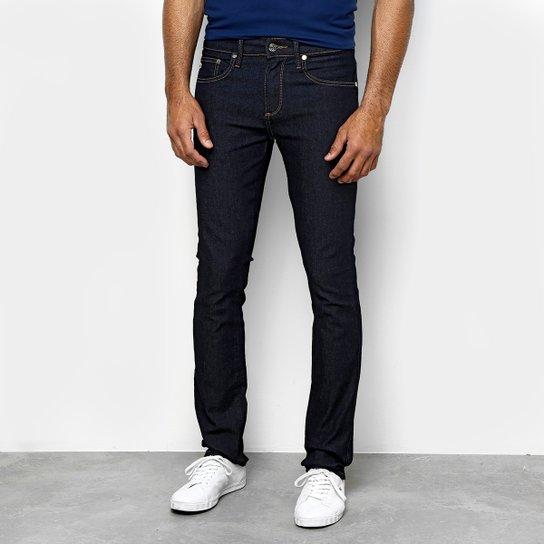 Calça Jeans Slim Lacoste Lavagem Escura Masculina - Azul Escuro ... a71468b95e
