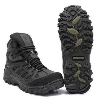 50dc5185b Bota Airstep Hiking Black - Army 5700-1 - 45
