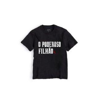 d0bb885b8c Camiseta Infantil Poderoso Filhão Reserva Mini Masculina