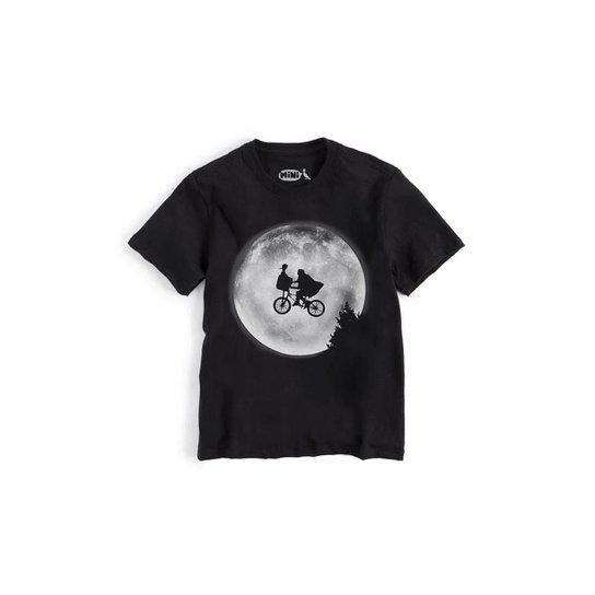 fe2463cbf8 Camiseta Infantil Pica-Pau Et Reserva Mini Masculina - Preto
