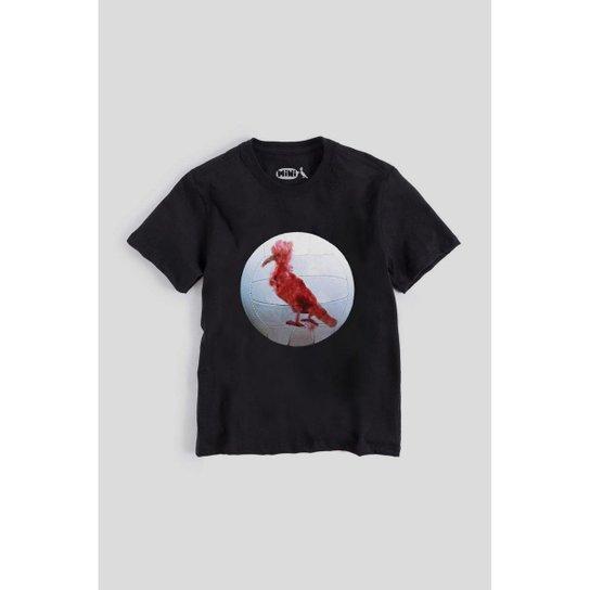 e93dc0ac1 Camiseta Infantil Pica-Pau Bola Perdida Reserva Mini Masculina - Preto