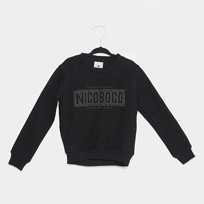 Moletom Infantil Nicoboco Sodertalj Masculino