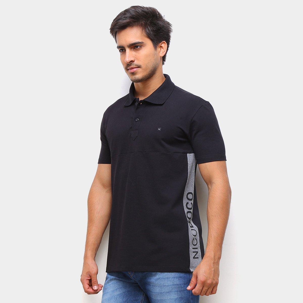 Camisa Polo Nicoboco Estampada Masculina