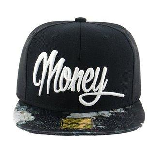 Boné Aba Reta Young Money Snapback Money Floral 4577031f098